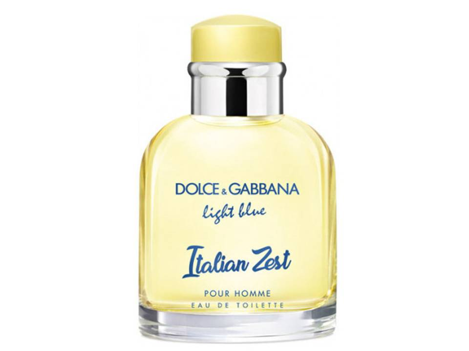 Light Blue UOMO Italian Zest by Dolce&Gabbana EDT TESTER 100 ML